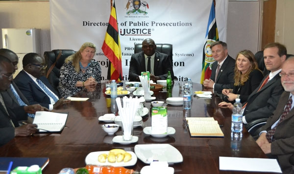 IPlea bargaining experts visit the Directorate